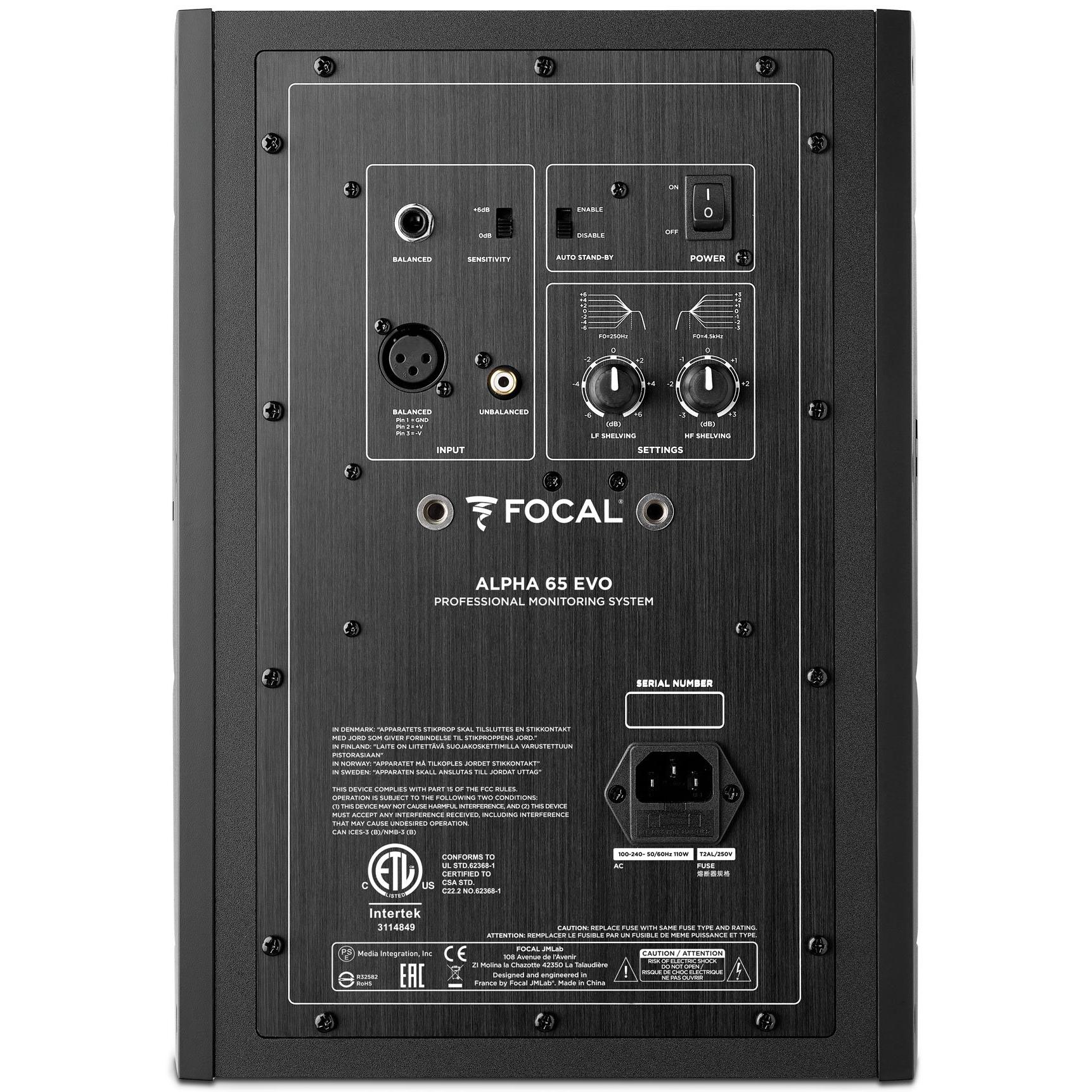 Alpha EVO 65 - ScaleNordic - Distributor of Pro Audio equipment